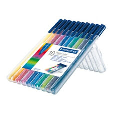Staedtler Triplus Fibre Tip Pens Pack of 10