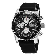 Revue Thommen Men's Airspeed Black Dial Rubber Strap Automatic Watch 17030.6537