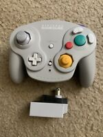 Nintendo Wavebird Controller and Receiver (Gray and TESTED)
