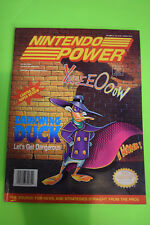 Nintendo Power Magazine Vol #36 Darkwing Duck SNES NES Krusty's Fun House Poster