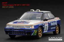 Subaru Legacy RS 1991 RAC Vatanen/Berglund 1/43 8187 Mirage HPI RACING