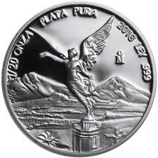 2018 Proof Silver Mexican Libertad Onza 1/20 oz in Cap