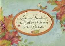 Papyrus Thanksgiving Card - Love & Friendship Will Always Reach Across The Miles