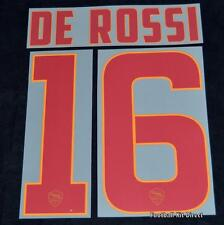 Roma De Rossi 16 2014/15 Football Shirt Name/Name Set Kit Away Serie a