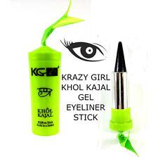 Krazy Girl Khol Kajal Eyeliner Gel Stick Noir Negro