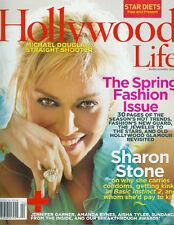 SHARON STONE Michael Douglas NANCY O'DELL Channing Tatum AISHA TYLER 06 magazine