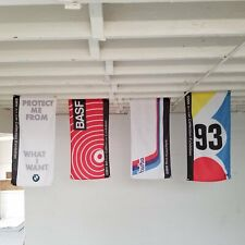 BMW Art Car - 4 Flag Set- m3 m5 alpina hartge e30 e36 dinan 3.0csl e46 e21 DTM