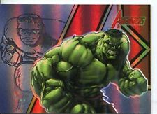 The Complete Avengers Legendary Heroes Chase Card LH6
