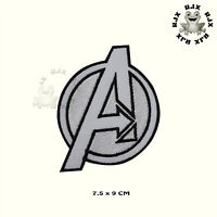 White Avenger Superhero Movie Patch Iron On Patch Sew On Embroidered Patch