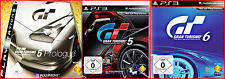 SONY PS3 4 GAMES: GT GRAN TOURISMO 5 + GT 5 PROULOGE + 6 + EXTRA GAME