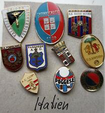 10 Anstecknadeln, Broschen oder Pins Sport/Fußball Italien