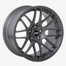 19x8.5 VMR Rims VB3 5x120 ET40 Gunmetal Wheels (Set of 4)
