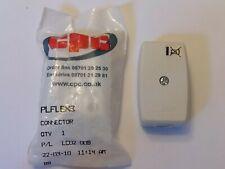 5amp/250v MAINS ELECTRICAL FLEX CABLE CONNECTORS CPC 2 CORE CABLE (BS5733)1 pack