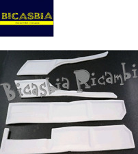 11149 - PROTEZIONI ADESIVE COFANI + PARAFANGO BIANCHE VESPA PX 125 150 200