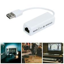USB Lan Ethernet-Netzwerk Adapterkarte USB -Stecker auf RJ45-Buchse 65*20*15mm