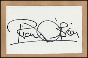 Richard O'Brien Rocky Horror Picture Show Orig. Hand Signed Autograph Card & COA