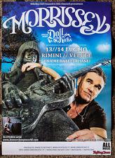 MORRISSEY (The Smiths) poster 50 x 35 cm manifesto (Johnny Ramone) Italian tour