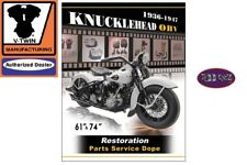Harley davidson manuals literature ebay knucklehead service and parts manual overhead 61 rigid 74 4 speed knuckle fandeluxe Choice Image