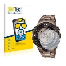 2x Protection D'écran Mat Casio Protrek prw-3000t-7jf Mens Watch Film Protecteur