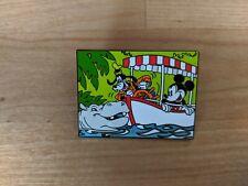 Disney Pin Mickey Mouse and Goofy Magic Kingdom The Jungle Cruise Boat Ride