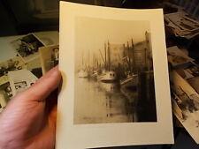 ARTISTIC PHOTO, BOAT HARBOR, KETCHIKAN, ALASKA BY OTTO C. SCHALLERER