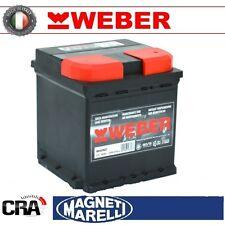 Batteria WEBER (Magneti Marelli) per auto W50ND 50Ah 12V 450A PRONTA ALL'USO