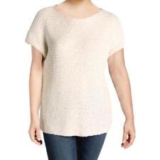 Suéteres para mujer con textura de manga corta  6b316f00d53a