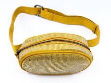 Royal Belt Bag / Fanny Pack or Travel Crossbody. (Mustard) New