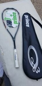 NWT & IN CASE PRINCE  TF ATTACK (TITANIUM FORCE) SQUASH  RACQUET  $49.99 MSRP
