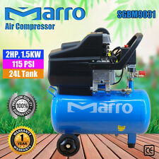 Marro Household/Indstrial Air Compressor 24L 2HP, 1.5KW ELECTRICAL MOTOR