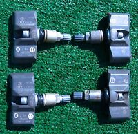 4 OEM Factory AUDI Bentley VW Wheel Tire Pressure Sensor Monitors TPMS 4D0907275