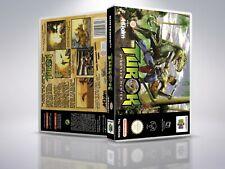 Turok: Dinosaur Hunter - N64 - Cover/Case - NO Game - PAL/US