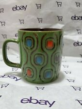 Mr. Coffee Ceramic Green Coffee Cup Coffee Americano Dual Tone  Mug
