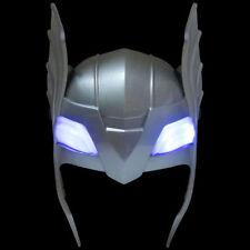 Nuevo Thor Marvel Infinito Héroe de la guerra luz LED Hasta Niños Máscara De Disfraz Elaborado Vestido