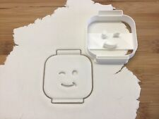 Lego Man Head Wink Cookie Cutter Biscuit, Pastry, Fondant Cutter