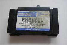 WESTINGHOUSE EHB1100L 1 POLI 100 Amp VMAX 240VAC 50 Hz 125VDC #K2237 STOCK