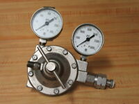 Meco 0-1-L Compressed Gas Regulator O-1-L Missing 1 Glass