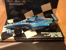 Jenson Button Benetton Playlife 1:43 Scale Ltd Edition 2,999 Excellent condition