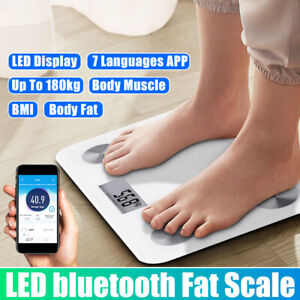 Body Fat Scale For Android or IOS Digital LED Digital Weight bluetooth App