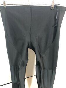 Pearl Izumi Mens  XXL Padded Pants Elite Thermal Barrier Black Cycling Tight