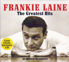 FRANKIE LAINE THE GREATEST HITS 40 ORIGINAL RECORDINGS (NEW SEALED 2CD) Digipak