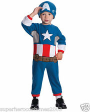 The Avengers Captain America Toddler Fleece Costume Marvel Comics 2T-4T 620014