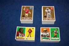RANDY MOSS 2005 TOPPS TURN BACK THE CLOCK #10 LOT OF 89 (SALE #K1214)