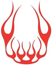 LARGE car bonnet stickers van vinyl graphics decals centre tribal flames boat