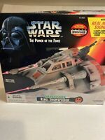 Star Wars Vintage Power of the Force Electronic Rebel Snowspeeder w/Box - 1995