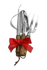 Cyclone Stainless Steel Hand Tool Gift Set 3 Piece Gardeners Xmas Present Gift