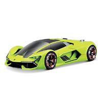 Bburago 1:24 Lamborghini Terzo Millennio Green Diecast Racing Car Model IN BOX