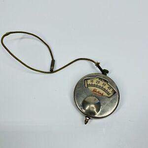 Vintage Sterling 1916 Patent Volt Meter 0 To 50 tester gauge - WORKS (I3)