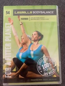 Les Mills Body Balance CD DVD Instructor 37 38 46 47 50 51 52 53 54 56 57