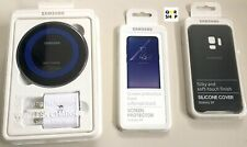 Samsung Original Starter Kit For Galaxy S9 Wireless Charger, Case,U.K Plug,